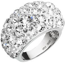 Strieborné prstene so Swarovski kryštálmi - obvod mm - 60 33f76834852